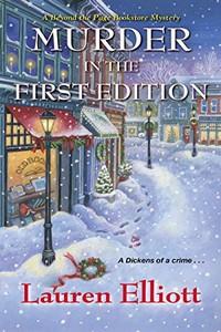 Murder in the First Edition by Lauren Elliott